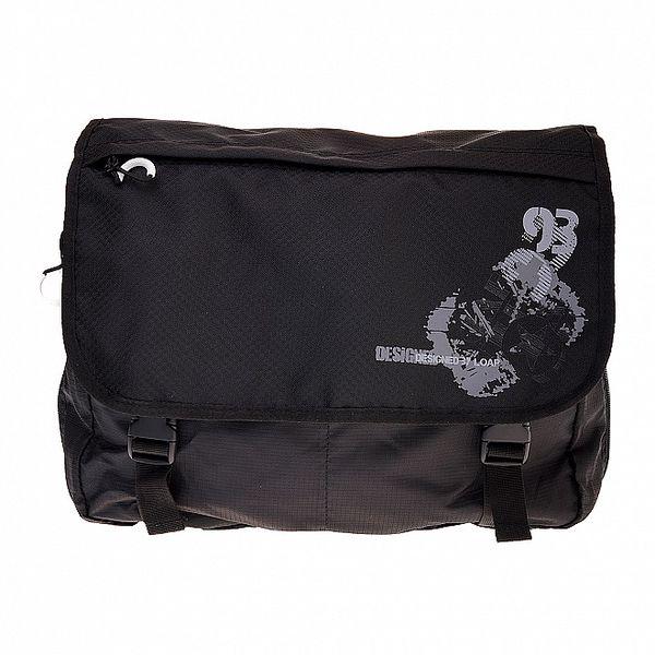 Černá taška přes rameno Loap