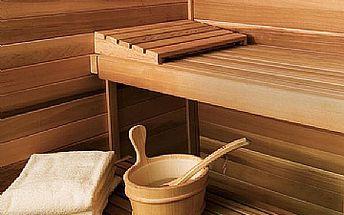 4 x 60min. Finské sauny nebo 20min. Detoxikace