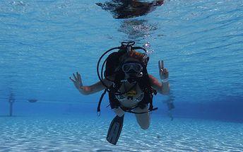 Potápění v bazénu - minikurz