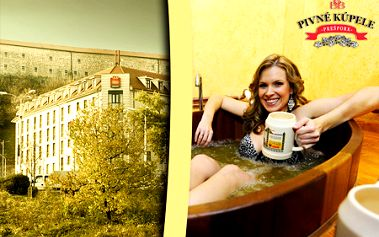 Len 99,99 € za pivný kúpeľ a 1 noc v 3*** hoteli s raňajkami pre dvoch! Originálny a kvalitný wellness plný liečivého kvasinkového piva priamo v historickom centre BA!