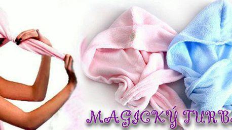 Magický ručník - turban na vlasy již od 99 Kč!