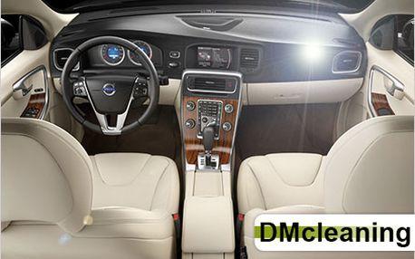 Kompletní čištění interiéru vašeho vozu profesionálními přípravky od 520 Kč.