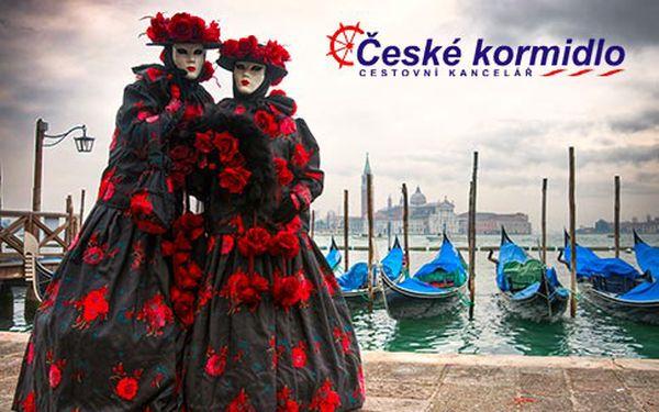 Masopustní karneval v italských Benátkách