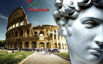 Veľkonočný romantický zájazd do kolísky renesancie - Florencie a Ríma od CK Waldtour! Doprava luxusným autobusom, ubytovanie v 3* hoteli s raňajkami, kvalitný sprievodca!