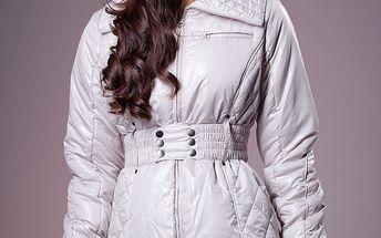 Dámska biela zimná bunda Ada Gatti
