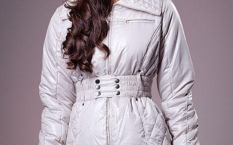Dámská bílá zimní bunda Ada Gatti