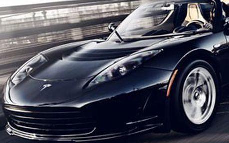 Nezapomenutelný zážitek! Vychutnejte si superjízdu v nejrychlejším elektromobilu světa – TESLA ROADSTER jen za 999 Kč