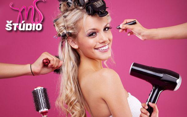Kompletná zmena imidžu s poradenstvom - strih a farbenie vlasov, líčenie, manikúra, pedikúra, depilácia a ďalšie procedúry so 64% zľavou. Len 59 € a začnete deň s pohľadom do zrkadla, ktorý Vám vyčarí úsmev na tvári.