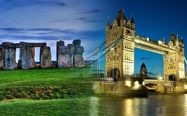 5denní pobyt v Londýně, výlet na Stonehenge a do O