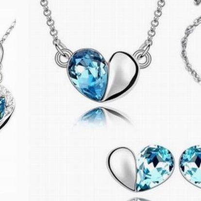 Poukaz na slevu 66% na šperky Swarovski Elements! Vyberte si z 9 luxusních setů šperků ten, který Vás na první pohled okouzlí!