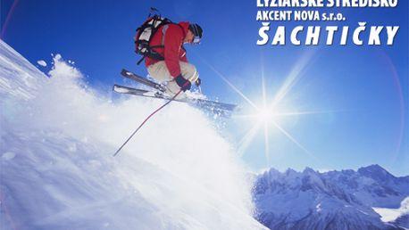 3-hodinový skipas do lyžiarskeho strediska Šachtičky v Nízkych Tatrách len za 9,99 €! 10,5 km zjazdoviek rôznej náročnosti, 4 vleky + 2 vleky pre malých lyžiarov!
