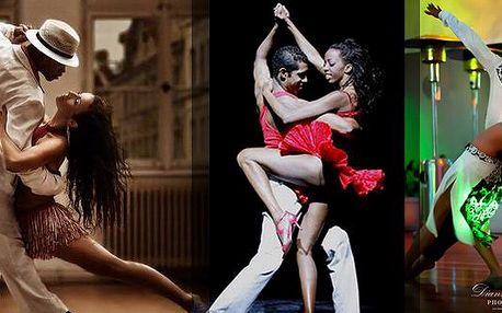 Poukaz na 50% slevu na kurzy Samby, Zouku či Salzy!!!!Přijďte se odreagovat od náročného pracovního dne a v zimních dnech se zahřát na jedinečné taneční kurzy latinských tanců!