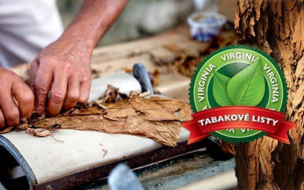 Originálne kvalitné tabakové listy