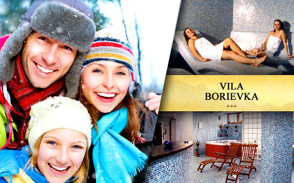Rodinný pobyt na 3 dni vo Vysokých Tatrách v novopostavenej Vile Borievka *** pre 2 osoby so 49% zľavou. Polpenzia, špičková gastronómia, zľavy na Ski Passy, zľava na pobyt pre deti a voľný vstup do vitálneho sveta len za 119€.