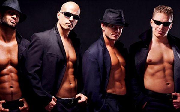 Pánská tanečně-striptýzová show Bez kalhot Edition
