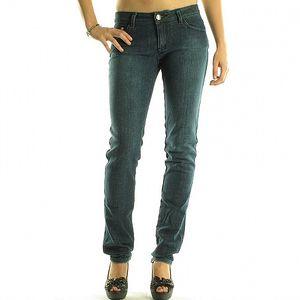 Dámské modré džíny Rocawear s kovovými cvoky