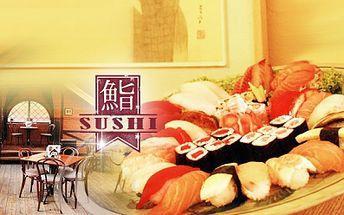 """Luxusni """"GANGNAM STYLE"""" SUSHI SET za 399 Kč! 42 kusů toho nejlepšího sushi od korejských mistrů kuchařů! Ochutnejte MAKI, NIGIRI nebo MANDU se slevou 66%!"""