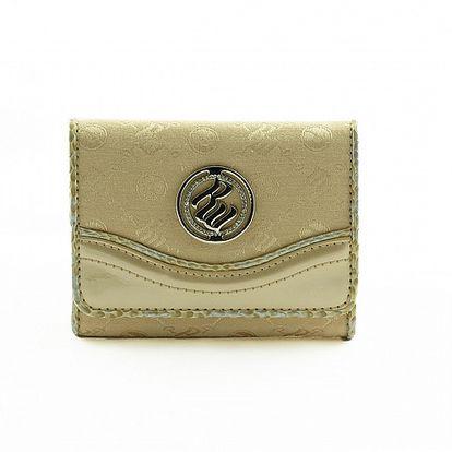 Dámská zlatá peněženka Rocawear