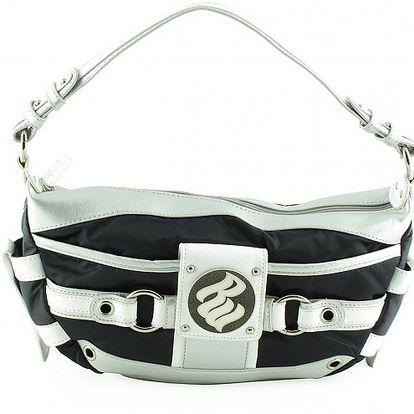 Dámská malá černo-bílá kabelka Rocawear