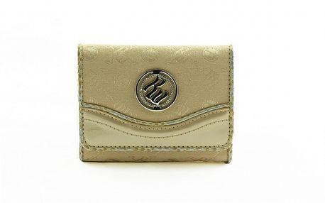 Dámska zlatá peňaženka Rocawear