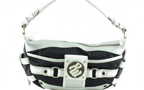 Dámska malá čierno-biela kabelka Rocawear
