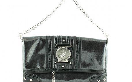 Dámska čierna lakovaná kabelka Rocawear