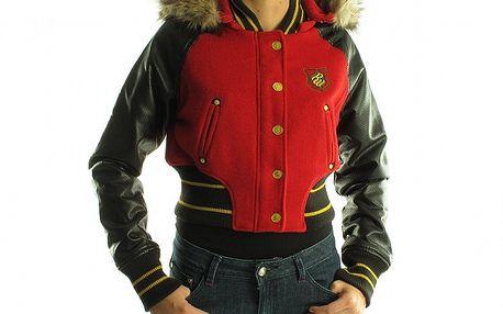 Dámska čierno-červená bunda Rocawear