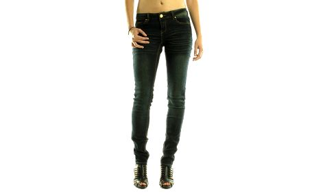 Dámske tmavo modré skinny džínsy Rocawear