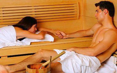 Valentýnský neomezený vstup do saunového světa PRO DVA!