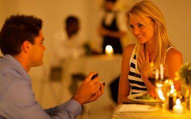3chodová večeře při svíčkách PRO DVA s 58% slevou!