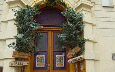 Ubytování pro 2–4 osoby ve stylovém penzionu ARTHARMONY *** s atypickým interiérem přímo v centru PRAHY!