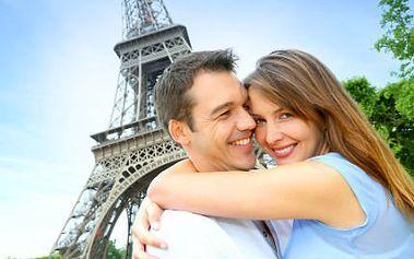 Valentýnský den v Paříži s prohlídkou jen za 1590 Kč!