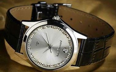 Luxusní dámské hodinky Yves Camani s krystaly Swarovski!