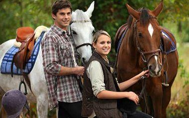 Jízda na koni pro 2 - dárek na Valentýna!