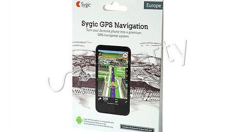 Navigační software s mapami celé Evropy. Syzygie GPS Navigation Evropa.