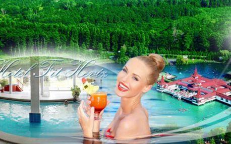 Wellness a relaxácia v 4 * hoteli pri termálnom jazere Héviz v Maďarsku! 4 alebo 6 dní pre 2 osoby, koktail na privítanie, RAŇAJKY, denne 3 chodová VEČERA, neobmedzené používanie hotelové WELLNESS oázy! Cena už od 192 €!