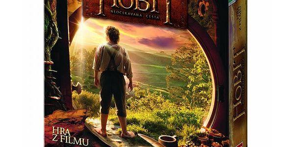 Dino Hobit - stolní hra. Zábavná kooperativní hra s postavami z Hobita.