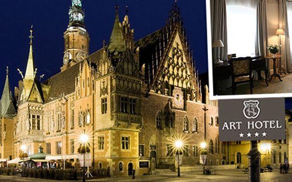 Ubytování v polské Wrocławi - Art hotel****
