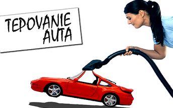 Doprajte vášmu autu čistý a voňavý interiér! Kompletné tepovanie auta: sedadiel, podlahy, tapacíru a kufra len za 9,90 €! Odstránenie zatuchnutého pachu, roztočov a prachu