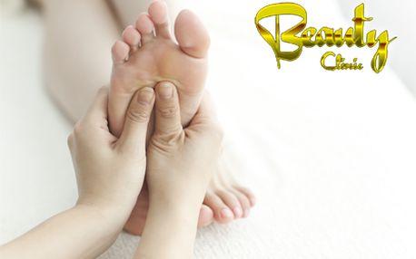 Zistite príčiny problémov svojho tela a zažite uvoľnenie pri reflexnej masáži nôh spojenej s medicínskou lymfodrenážou! Len teraz v salóne Beauty Clinic so zľavou 59%!