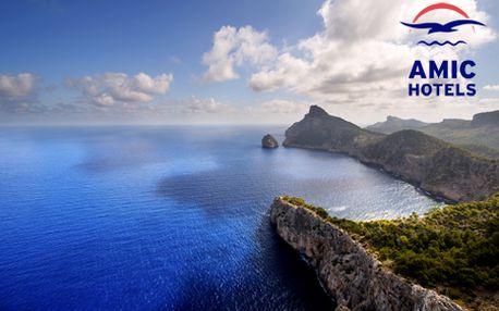 8-dňový ALL INCLUSIVE zájazd do hotela Amic Horizon*** v Palma de Mallorca s ubytovaním v izbách Superior s výhľadom na more! V cene aj vyhliadkový výlet, jacuzzi a fľaša vína!
