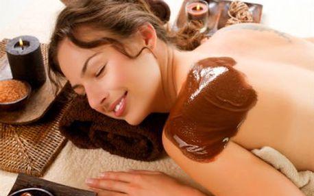 120minutová čokoládová masáž celého těla!