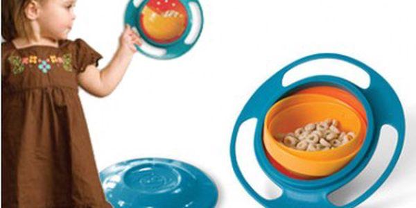 Gyro Bowl za skvělou cenu - Nevysypatelná miska pro Vašeho malého neposedu!