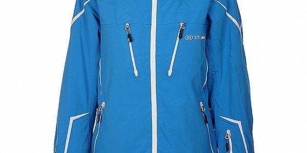 Dámská světle modrá lyžařská bunda Trimm Celine s membránou