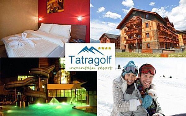 3 denní pobyt/2 noci v Tatrách v luxusní apartmánu pro 2 osoby.