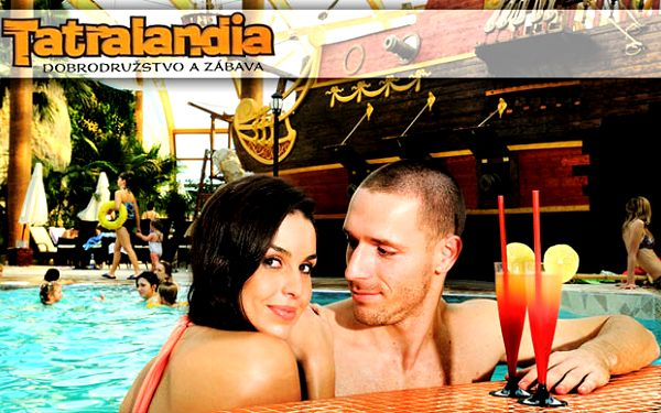 Romantika a exotika aj v zime v jedinečnej atmosfére pri bazénoch pod palmami s 50% zľavou. Len 19,95€ za deň v tropickom raji v Tatralandii.