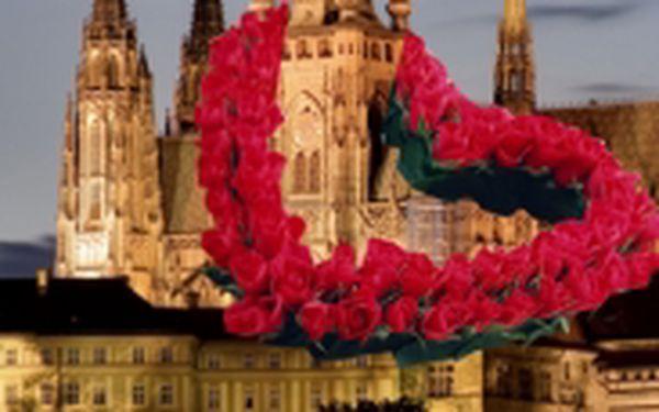 Romantická Valentýnská noc v 3*hotelu v Praze pro dvě osoby