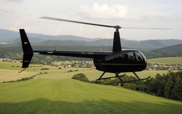 Vyhlídkové lety vrtulníkem od 790 Kč! Na výběr tři trasy!