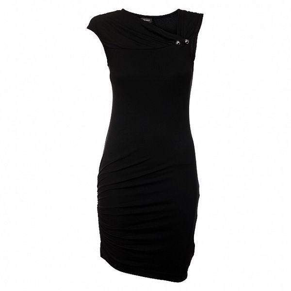 Dámske čierne koktejlové šaty Miss Sixty