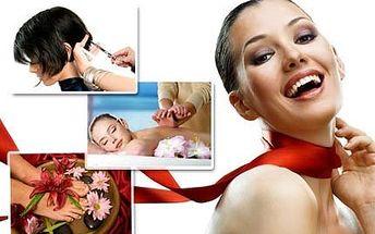 Beauty day - kadeřnický balíček, masáž i pedikúra!